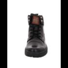 Bugatti fekete magasszárú cipő