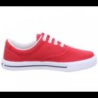 Romika férfi piros vászoncipő