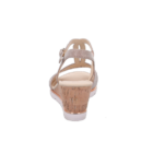 Gabor telitalpú csillámló szandál