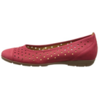 Gabor piros lyukacsos balerina cipő