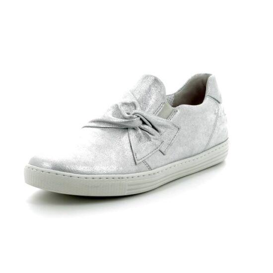 Gabor ezüstösen csillámló cipő