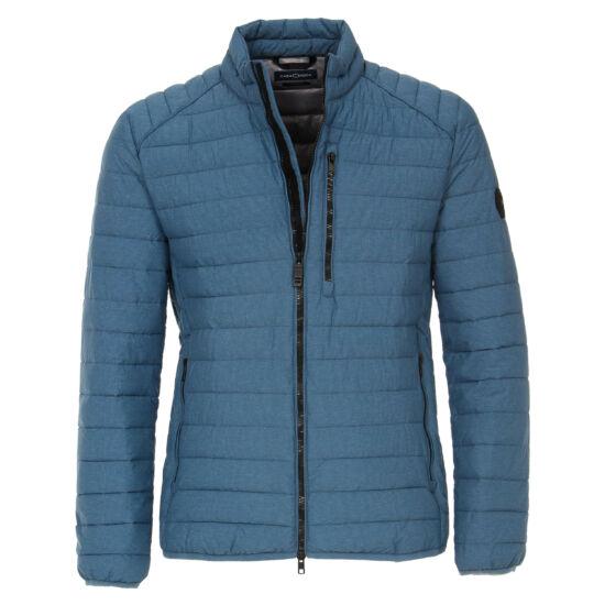 Casa Moda kék szteppelt dzseki