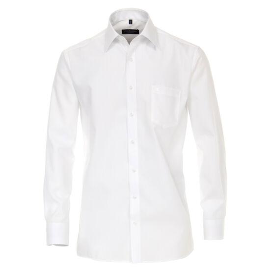 Casa Moda fehér hosszú ujjú ing fehér gombokkal