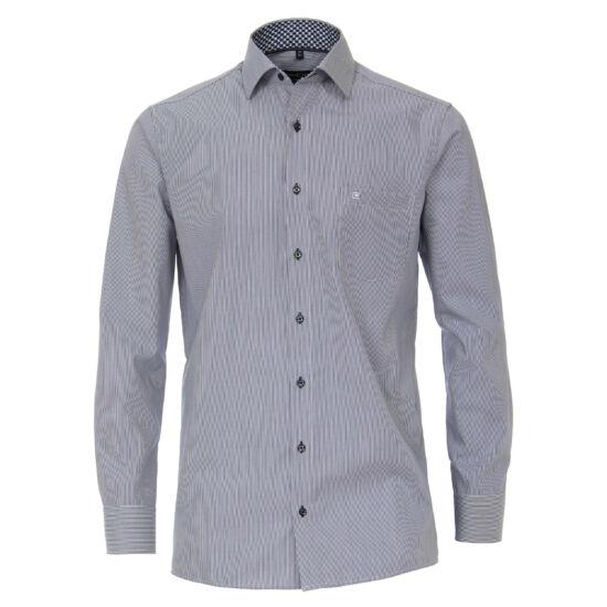 Casa Moda kék hajszálcsíkos hosszú ujjú ing