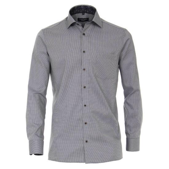 Casa Moda szürke aprókockás hosszú ujjú ing