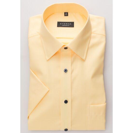 Eterna rövid ujjú sárga ing