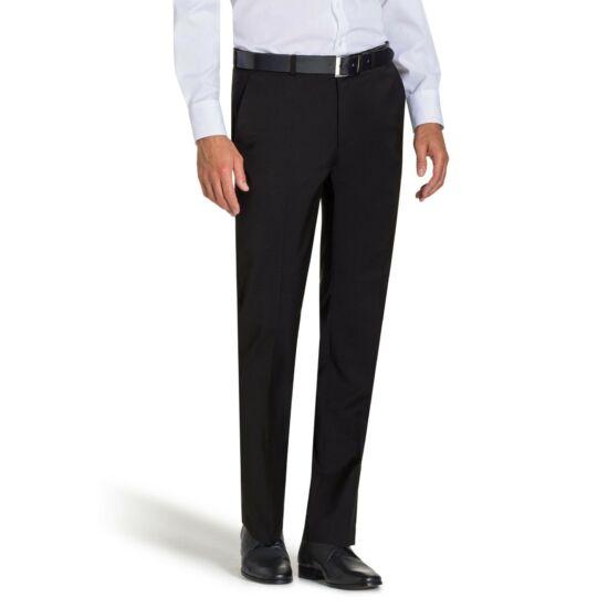 Bugatti fekete elegáns nadrág