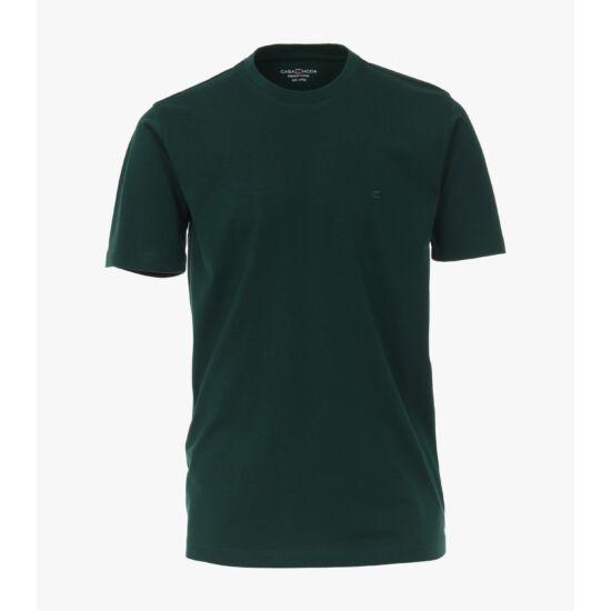 Casa Moda sötétzöld kerek nyakú póló