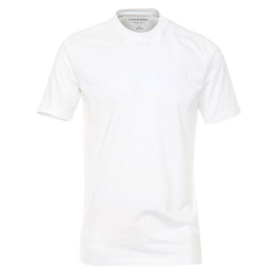Casa Moda kerek nyakú fehér póló