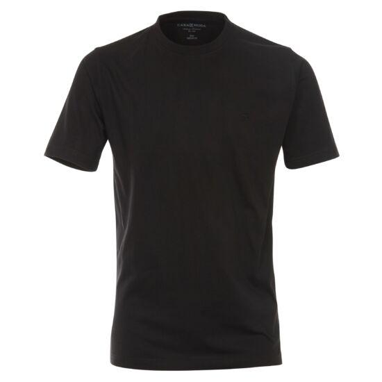 Casa Moda kerek nyakú fekete póló