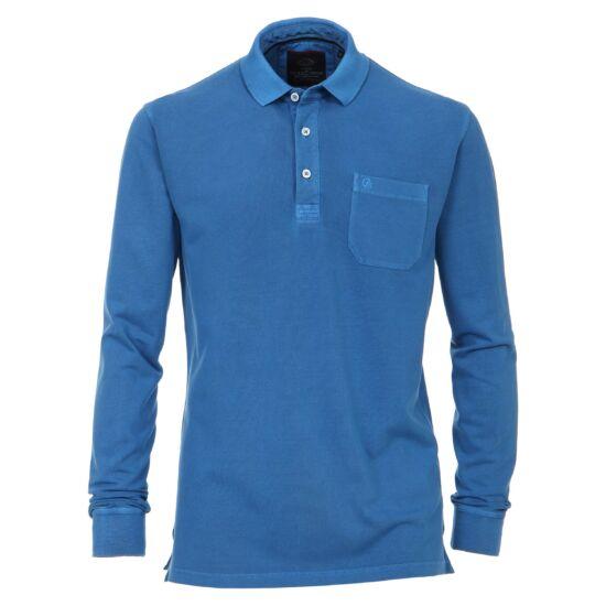 Casa Moda kék hosszú ujjú galléros póló - 4XL - Óriás-Shop ... 265fc2a5d1