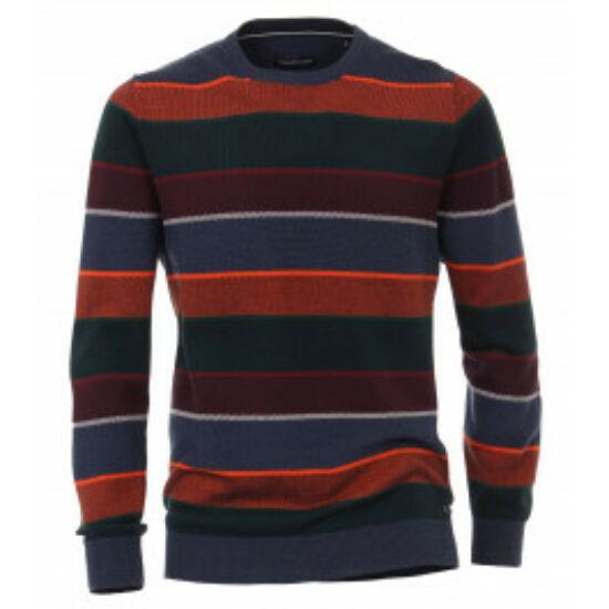 Casa Moda kerek nyakú csíkos pulóver