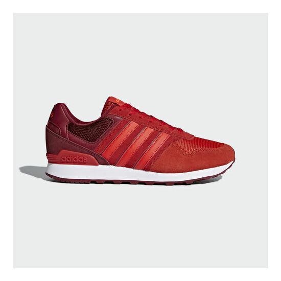 b0b41911f3 Adidas Trainers Neo 10K low top piros utcai cipő - 49 1/3 - Óriás ...