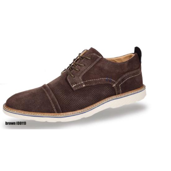 Boras barna utcai cipő