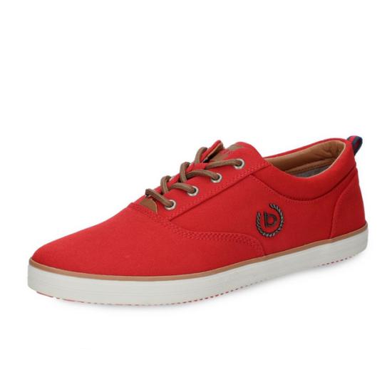 Bugatti piros vászon cipő