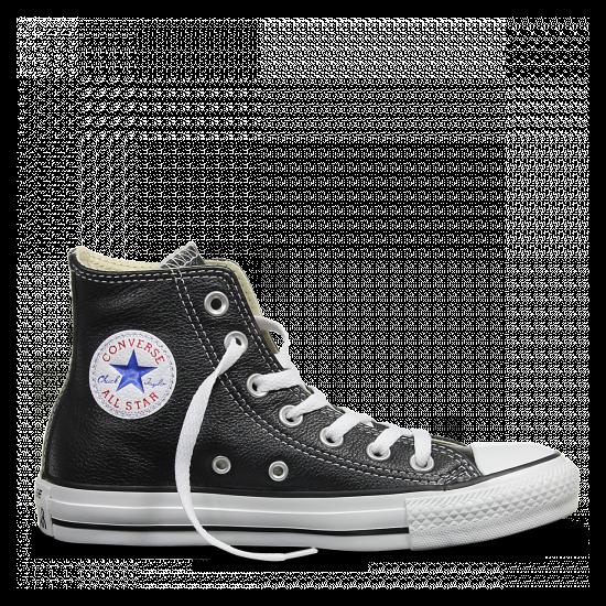 Converse Chuck Taylor All Star bőr fekete
