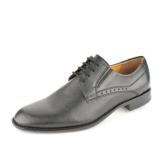 Fretz Men fekete alkalmi cipő