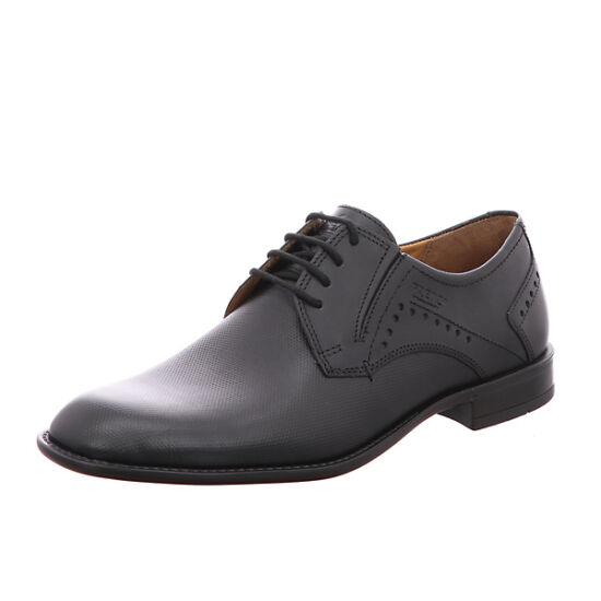 Fretz Men Tosco fekete alkalmi cipő