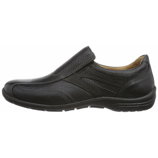 Jomos fekete bebújós férfi cipő