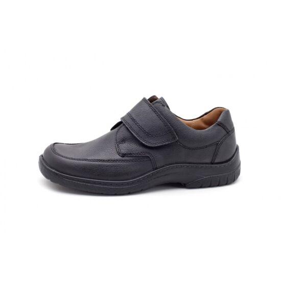 Jomos fekete férfi cipő tépőzárral