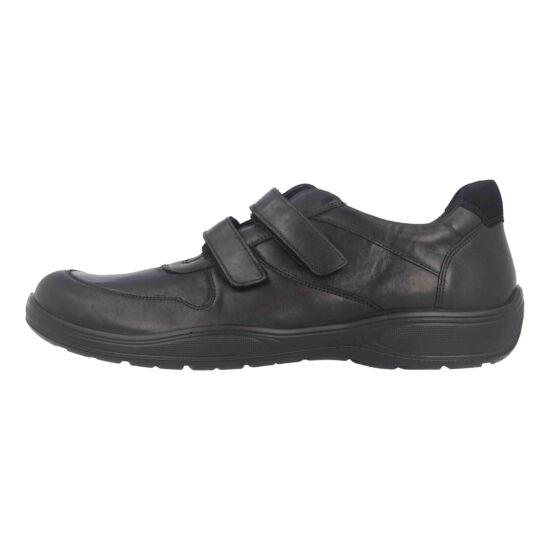 Jomos fekete tépőzáras férfi cipő