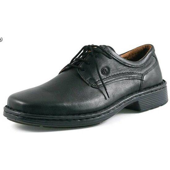 Josef Seibel fekete férfi alkalmi cipő
