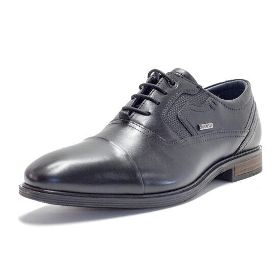 Josef Seibel fekete férfi alkalmi cipő TOP DRY TEX