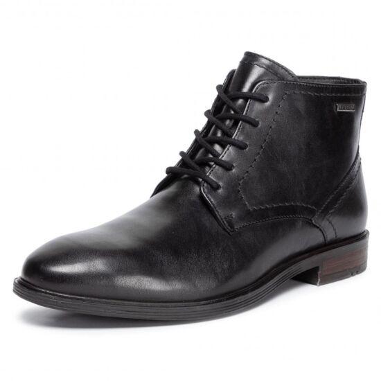Josef Seibel Jonathan fekete magasszárú cipő Top Dry Tex