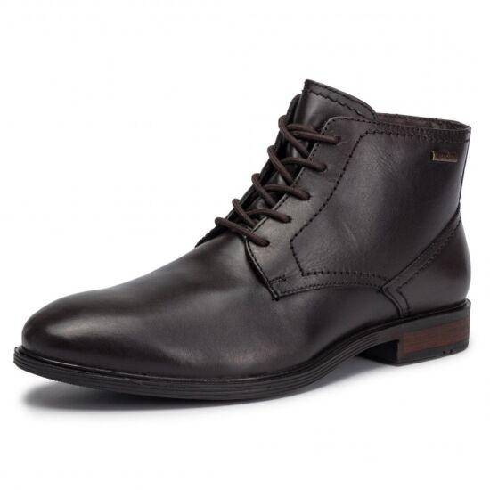 Josef Seibel Jonathan sötétbarna magasszárú cipő Top Dry Tex