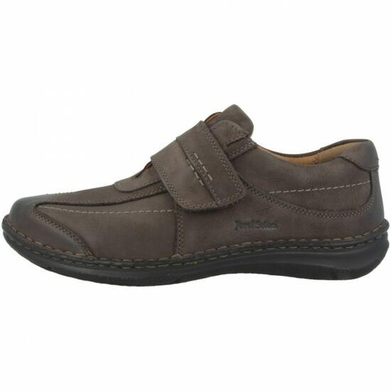 """Josef Seibel ALEC barna férfi cipő tépőzáras """" K """" szélesség"""