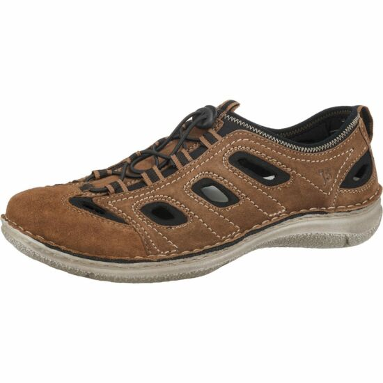 """Josef Seibel barna lyukacsos férfi cipő """"K"""" szélesség"""