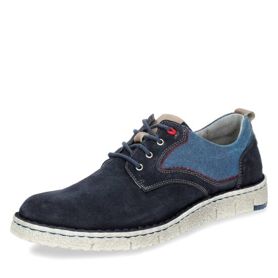 Josef Seibel kék velúr férfi cipő