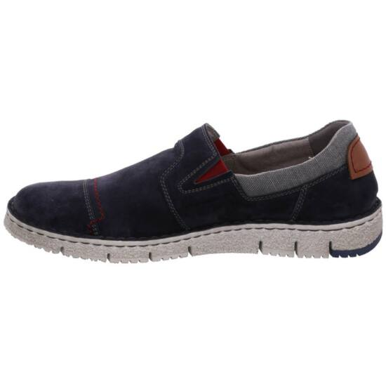 Josef Seibel kék bebújós férfi cipő