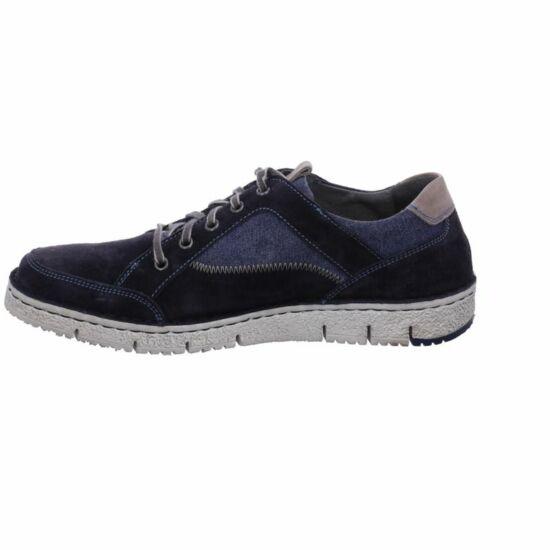 Josef Seibel Ruben kék velúr férfi cipő