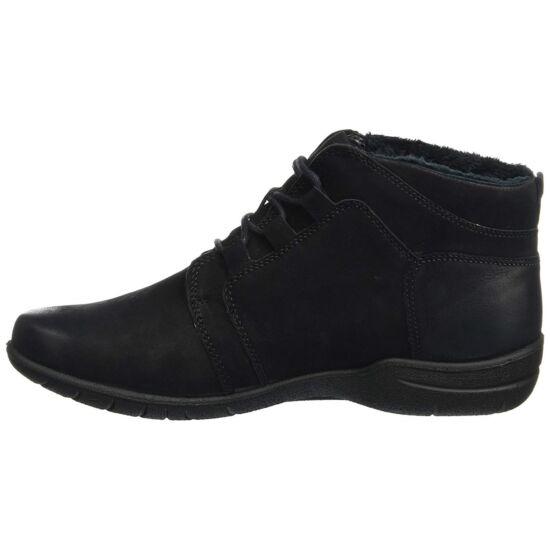 Josef Seibel fekete női magas szárú cipő TopDryTex