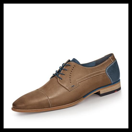 Lloyd Donnelly világosbarna férfi alkalmi cipő