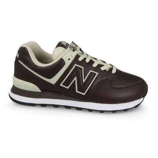 New Balance burgundi sportcipő