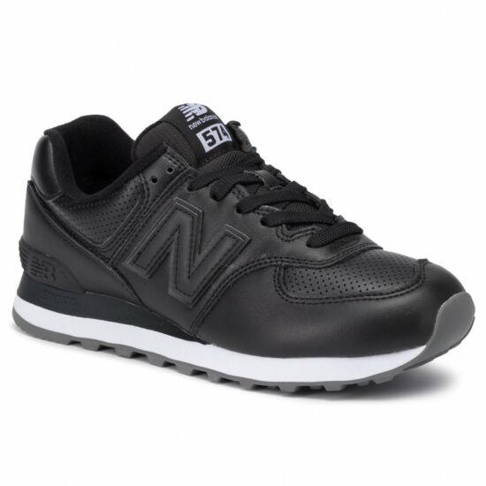New Balance fekete bőr sportcipő