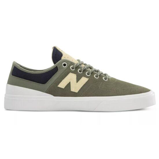 New Balance khaki zöld sportcipő