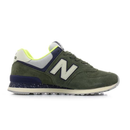 New Balance sötétzöld sportcipő