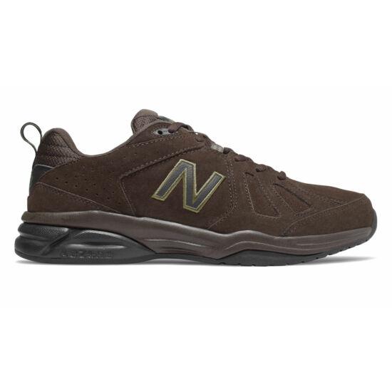 New Balance barna velúrbőr sportcipő