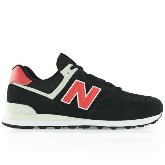 New Balance fekete velúr sportcipő