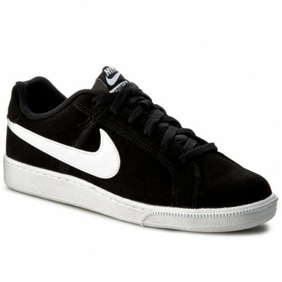 Nike Court Royale Suede fekete bőr utcai cipő - 49 1 2 - Óriás-Shop ... 7a02a221fd