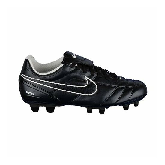 Nike Tiempo Natural II. FG fekete futballcipő