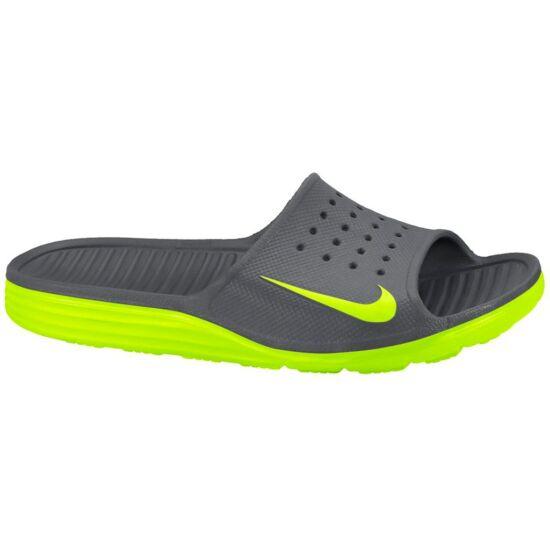 Nike Solarsoft Slide szürke papucs