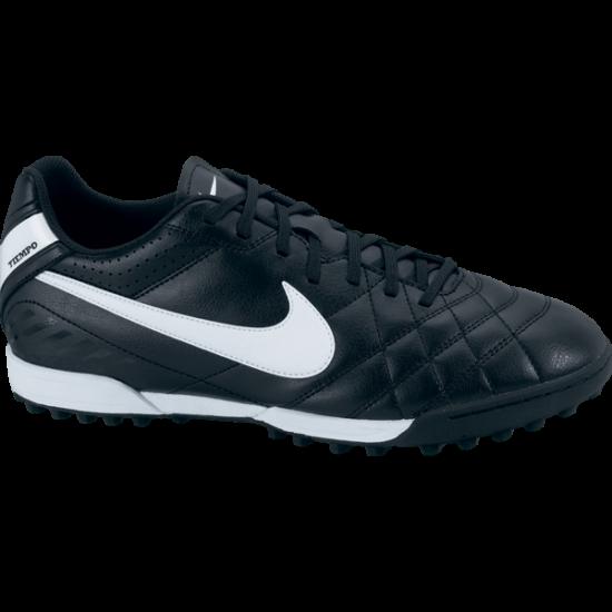 Nike TIEMPO NATURAL IV  fekete utcai edzőcipő
