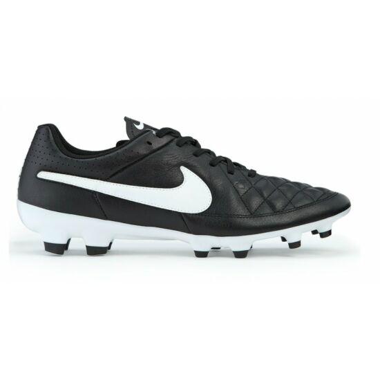 Nike Tiempo Genio Leather FG Mens fekete futballcipő