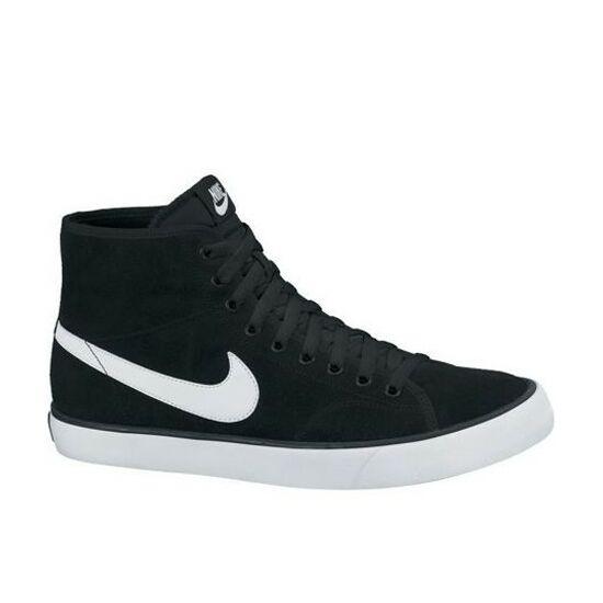 Nike Primo Court MID Leather fekete utcai edzőcipő