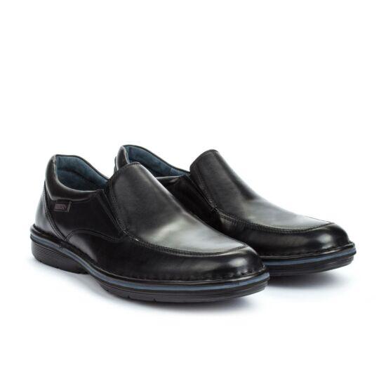 Pikolinos LUGO fekete bebújós cipő