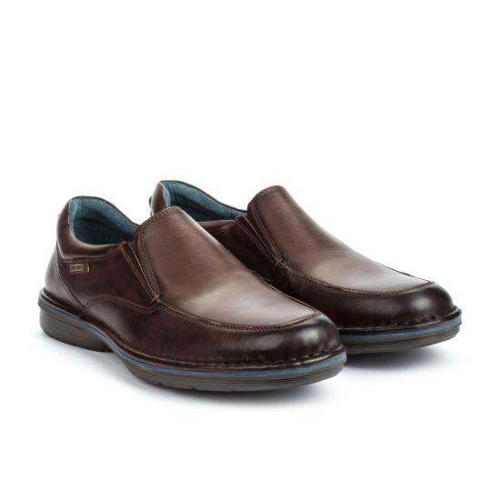 Pikolinos LUGO sötétbarna bebújós cipő